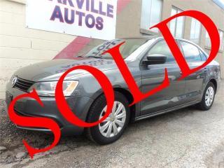 Used 2011 Volkswagen Jetta Sedan Trendline+ HTD SEATS AUTOMATIC SAFETY for sale in Oakville, ON