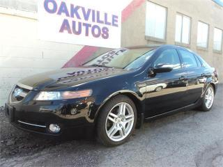 Used 2008 Acura TL NAVIGATION BACK UP CAMERA REMOTE START SAFETY INCL for sale in Oakville, ON