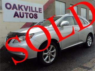 Used 2011 Lexus RX 350 NAVIGATION BACKUP CAMERA TOURING SAFETY INCL for sale in Oakville, ON
