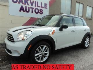 Used 2011 MINI Cooper Countryman Countryman MANUAL PANORAMIC ROOF for sale in Oakville, ON
