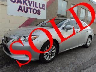 Used 2013 Lexus ES 300 h ES 300h NAVIGATION PREMIUM TECH CAMERA SAFETY for sale in Oakville, ON