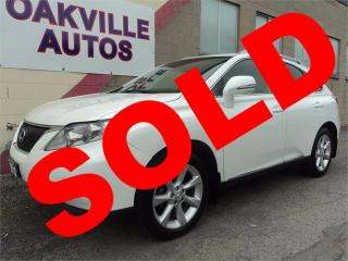 Used 2010 Lexus RX 350 NAVIGATION TOURING SAFETY WARRANTY INCL for sale in Oakville, ON