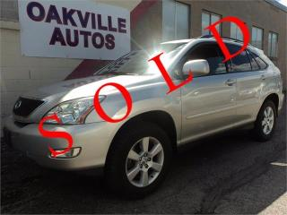Used 2004 Lexus RX 330 NAVIGATION ULTRA PREMIUM DVD CAMERA SAFETY INC for sale in Oakville, ON