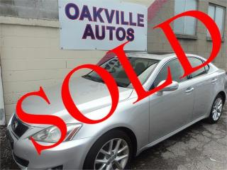 Used 2011 Lexus IS 250 NAVIGATION BACK UP CAMERA Auto AWD SAFETY INCL for sale in Oakville, ON