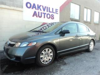 Used 2009 Honda Civic Sdn DX-A POWER WINDOWS A/C AUTO SAFETY INCL for sale in Oakville, ON