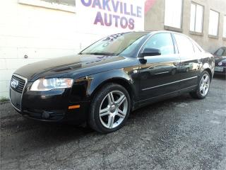Used 2007 Audi A4 2.0T AUTOMATIC LEATHER SUNROOF AWD SAFETY INC for sale in Oakville, ON