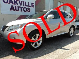 Used 2010 Lexus RX 350 PREMIUM TOURING B/UP CAMERA COOL SEATS SAFETY for sale in Oakville, ON