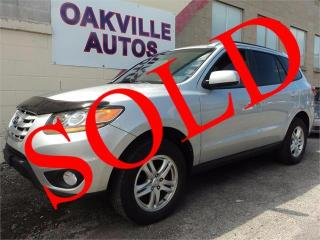 Used 2010 Hyundai Santa Fe GL AWD V6 BLUETOOTH SAFETY WARRANTY INC for sale in Oakville, ON