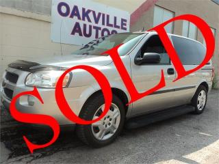 Used 2008 Chevrolet Uplander LS RUNNING BOARDS CRUISE SAFETY INCL for sale in Oakville, ON