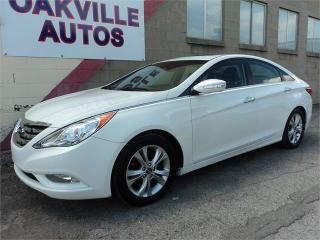 Used 2011 Hyundai Sonata Limited  SUNROOF LEATHER HTD SEATS SAFETY INC for sale in Oakville, ON