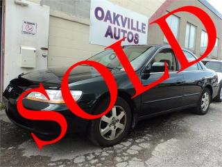 Used 2000 Honda Accord Sdn Special Edition for sale in Oakville, ON