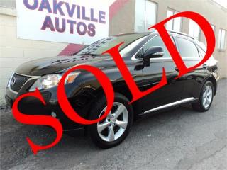 Used 2010 Lexus RX 350 NAVIGATION PREMIUM TOURING CAMERA SAFETY INCL for sale in Oakville, ON
