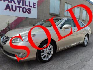 Used 2011 Lexus ES 350 NAVIGATION COOLED SEATS ECO ENGINE SAFETY INC for sale in Oakville, ON