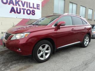 Used 2010 Lexus RX 350 COOLED SEATS CAMERA CLEAN SAFETY WARRANTY INCL for sale in Oakville, ON