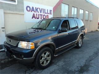 Used 2003 Ford Explorer Eddie Bauer 7 Pass for sale in Oakville, ON