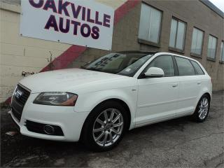 Used 2010 Audi A3 2.0T Premium  Premium S-LINE AUTO PANO AWD SAFETY for sale in Oakville, ON