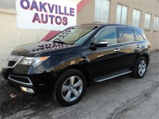 Used 2011 Acura MDX 7 PASSENGER PREMIUM REAR CAMERA HTD SEATS SAFETY for sale in Oakville, ON