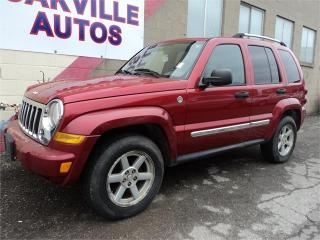 Used 2006 Jeep Liberty Limited 4X4 AUTOMATIC 3.7L for sale in Oakville, ON