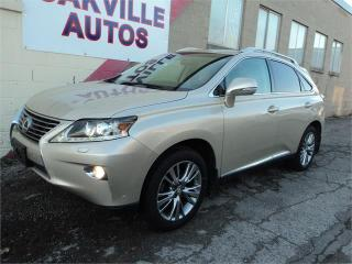 Used 2014 Lexus RX 350 NAVIGATION TOURING BLINDSPOT SAFETY WARRANTY for sale in Oakville, ON
