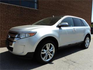 Used 2013 Ford Edge Limited AWD LEATHER NAVIGATION SAFETY INCL for sale in Oakville, ON