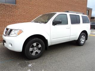Used 2012 Nissan Pathfinder S BASE 7 PASSENGER V6 4WD SAFETY WARRANTY for sale in Oakville, ON