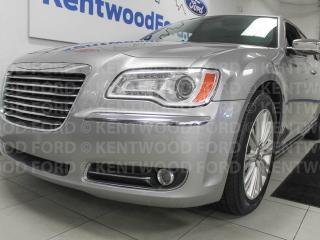 Used 2014 Chrysler 300C 300C AWD with NAV, sunroof, heated/cooled power leather seats, heated steering wheel, power rear shader, mirror dimmer, heated leather rear seats and back up cam for sale in Edmonton, AB