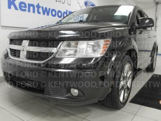 Used 2010 Dodge Journey RT AWD with sunroof, heated power leather seats, DVD entertainment system, rear climate control for sale in Edmonton, AB
