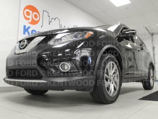 Used 2014 Nissan Rogue SL AWD with sunroof, back up cam, heated power leather seats for sale in Edmonton, AB