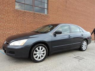 Used 2007 Honda Accord Sdn EX-L LEATHER SUNROOF HTD SEATS SAFETY INCL for sale in Oakville, ON