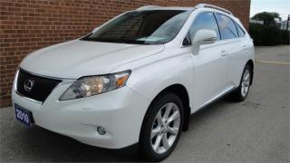 Used 2010 Lexus RX 350 NAVI/CAM/LEATHER/SUNROOF/SAFETY AND WARRANTY for sale in Oakville, ON