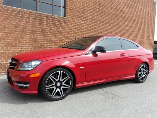 2013 Mercedes-Benz C-Class NO ACCIDENTS/ C 250 COUPE 2 DOOR AUTO PANO SAFETY