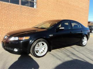 Used 2008 Acura TL w/Nav Pkg NAVIGATION BACK UP CAM TECH LOW KM for sale in Oakville, ON