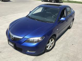 Used 2007 Mazda MAZDA3 Auto, 4 door, 3/Y warranty available for sale in North York, ON