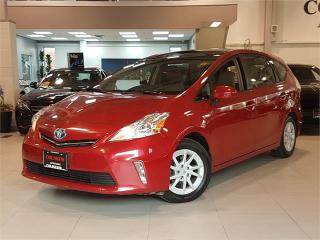 Used 2012 Toyota Prius V **LEATHER-CAMERA-DUAL PANO ROOF** for sale in York, ON