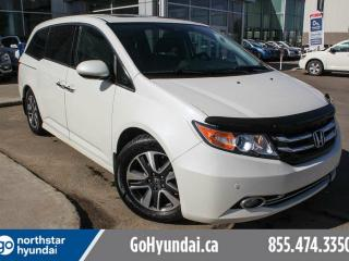 Used 2015 Honda Odyssey TOURING/LEATHER/ROOF/NAV/DVD for sale in Edmonton, AB