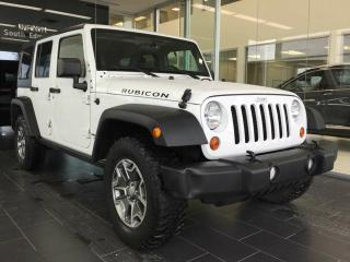 Used 2013 Jeep Wrangler Unlimited RUBICON, 4WD, ACCIDENT FREE for sale in Edmonton, AB