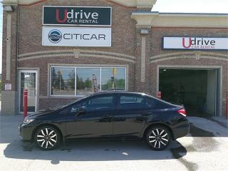 Used 2013 Honda Civic Sdn Touring for sale in Winnipeg, MB