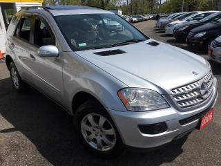 Used 2006 Mercedes-Benz ML 350 3.5L/Premium Pkg/NAVI/LEATHER/SUNROOF/ALLOYS/FOGS! for sale in Scarborough, ON