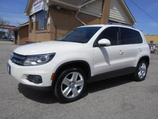 Used 2013 Volkswagen Tiguan Comfortline 4Motion Leather Panoramic Roof 58,000K for sale in Etobicoke, ON