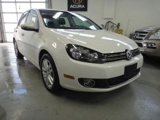 Used 2011 Volkswagen Golf FULLY LOADED.LEATHER,ROOF,[NO ACCIDENT] MINT for sale in North York, ON