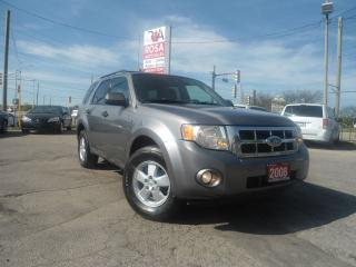 Used 2008 Ford Escape AWD AUTO LOW KM SAFETY ETEST PW PL PM A/C CRUISE for sale in Oakville, ON