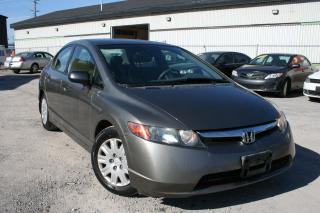Used 2007 Honda Civic DX-G for sale in Ottawa, ON