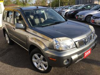 Used 2006 Nissan X-Trail BONAVISTA/AUTO/AWD/PANO SUNROOF/ALLOYS/FOG LIGHTS! for sale in Scarborough, ON