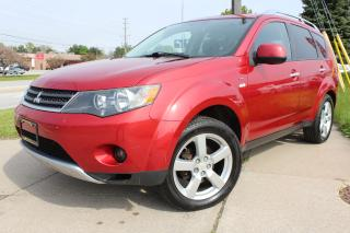 Used 2008 Mitsubishi Outlander XLS NAVI/DVD/LEATHER/SUNROOF for sale in Oakville, ON