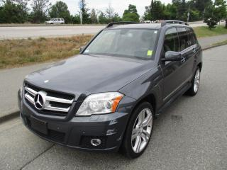Used 2010 Mercedes-Benz GLE350 GLK 350 4MATIC for sale in Surrey, BC