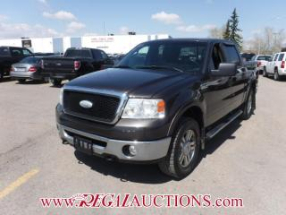 Used 2007 Ford F-150 Lariat SuperCrew 4WD 5.4L for sale in Calgary, AB