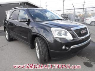 Used 2007 GMC ACADIA SLT 4D UTILITY 2WD for sale in Calgary, AB