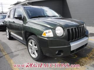 Used 2007 Jeep Compass 4D Utility 4WD for sale in Calgary, AB