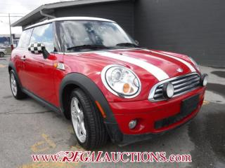 Used 2008 MINI COOPER BASE 2D HATCHBACK for sale in Calgary, AB