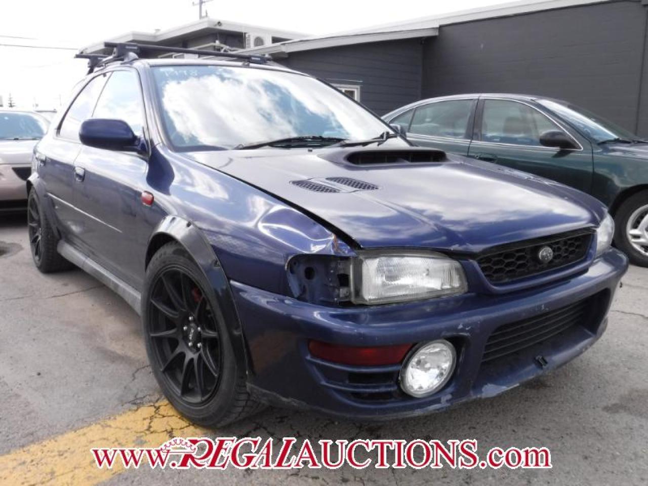 Photo of Blue 1998 Subaru IMPREZA WRX HATCHBACK AWD
